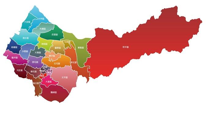 29區行政圖