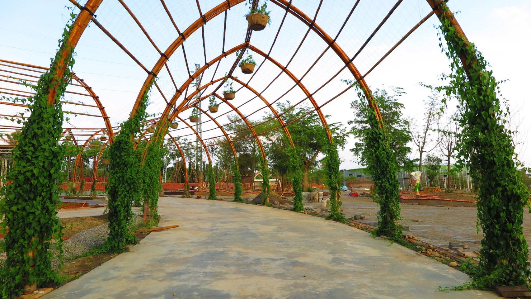 花博外埔園區植栽進度近8成  種植台灣原生樹種點亮園區