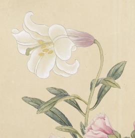 故宮響應台中花博 互動科技展出花、馬歷史文物