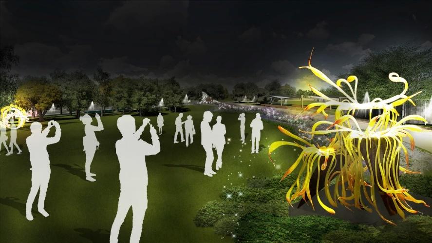 結合琉璃工藝與自然生態 全台首座琉璃公園在花博豐原葫蘆墩園區