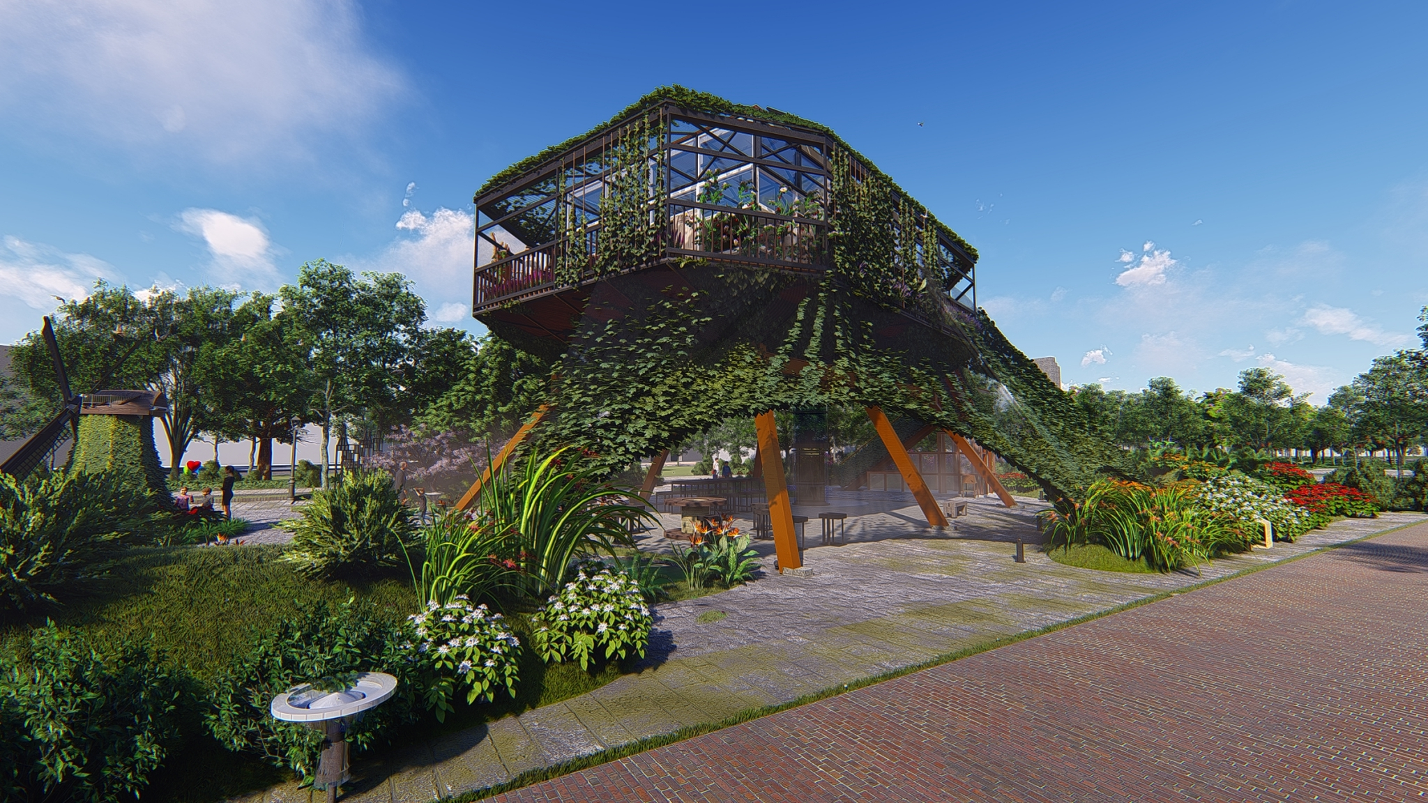 """International """"Holland Hall"""" is joining Flora Expo with 5 Taiwanese & Netherlands Corporates"""