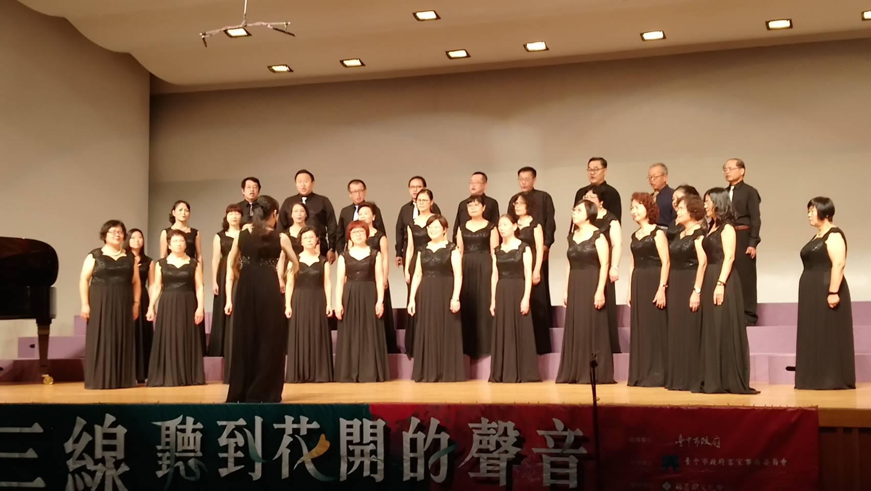 行經台三線聆聽花開的聲音 台中客家歌謠音樂會浪漫登場
