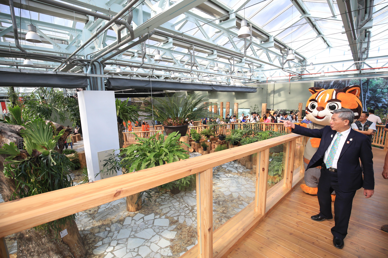 Flora Expo Waipu Park Smart Agriculture Pavilion exhibits over a thousand rare plants