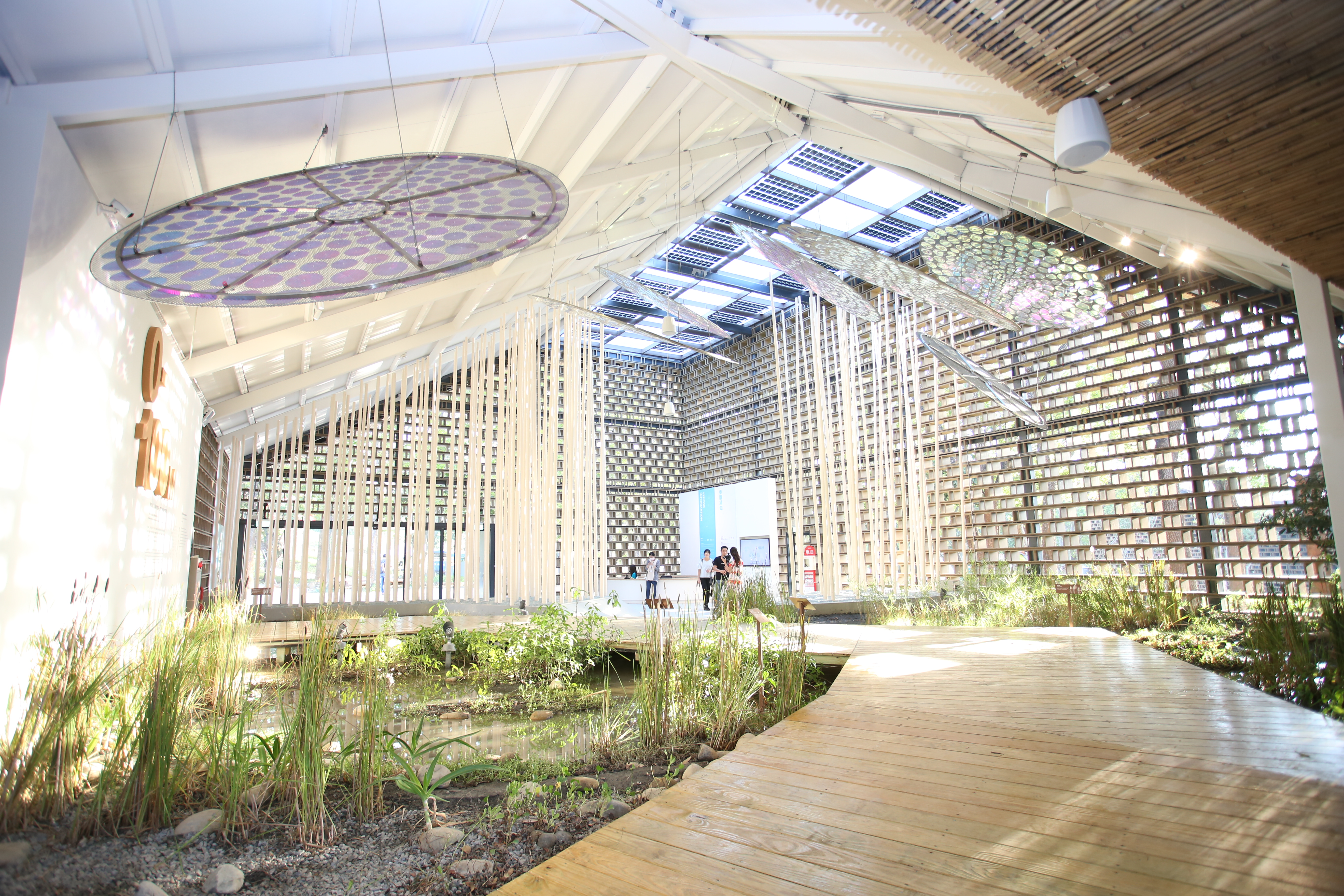 """See half of the earth in Taichung, see first of the """"Discovery Pavilion"""" in the Houli Forest Park of the Floral Expo"""