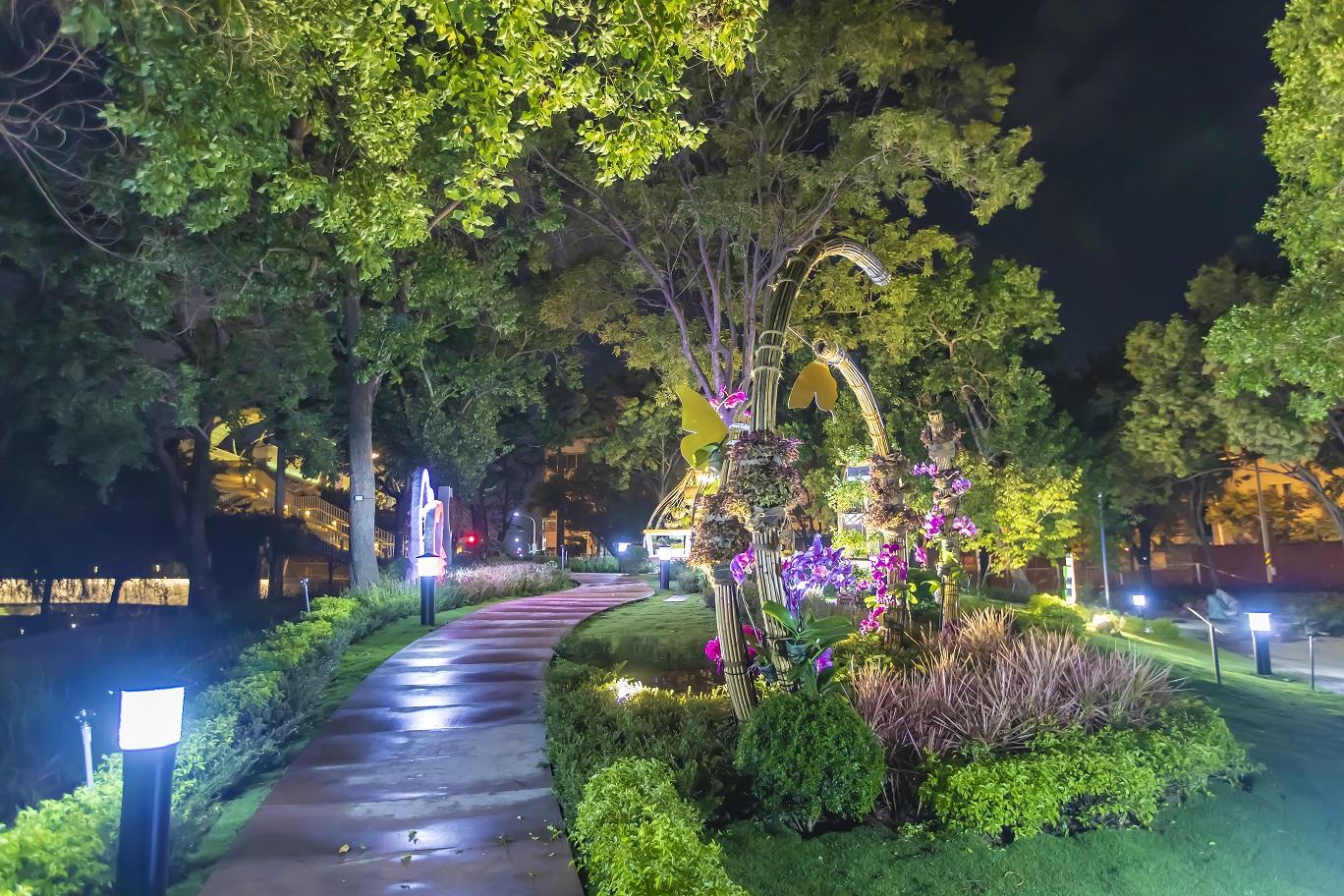 花博甜蜜氛圍 園區熱門約會點見證浪漫愛情