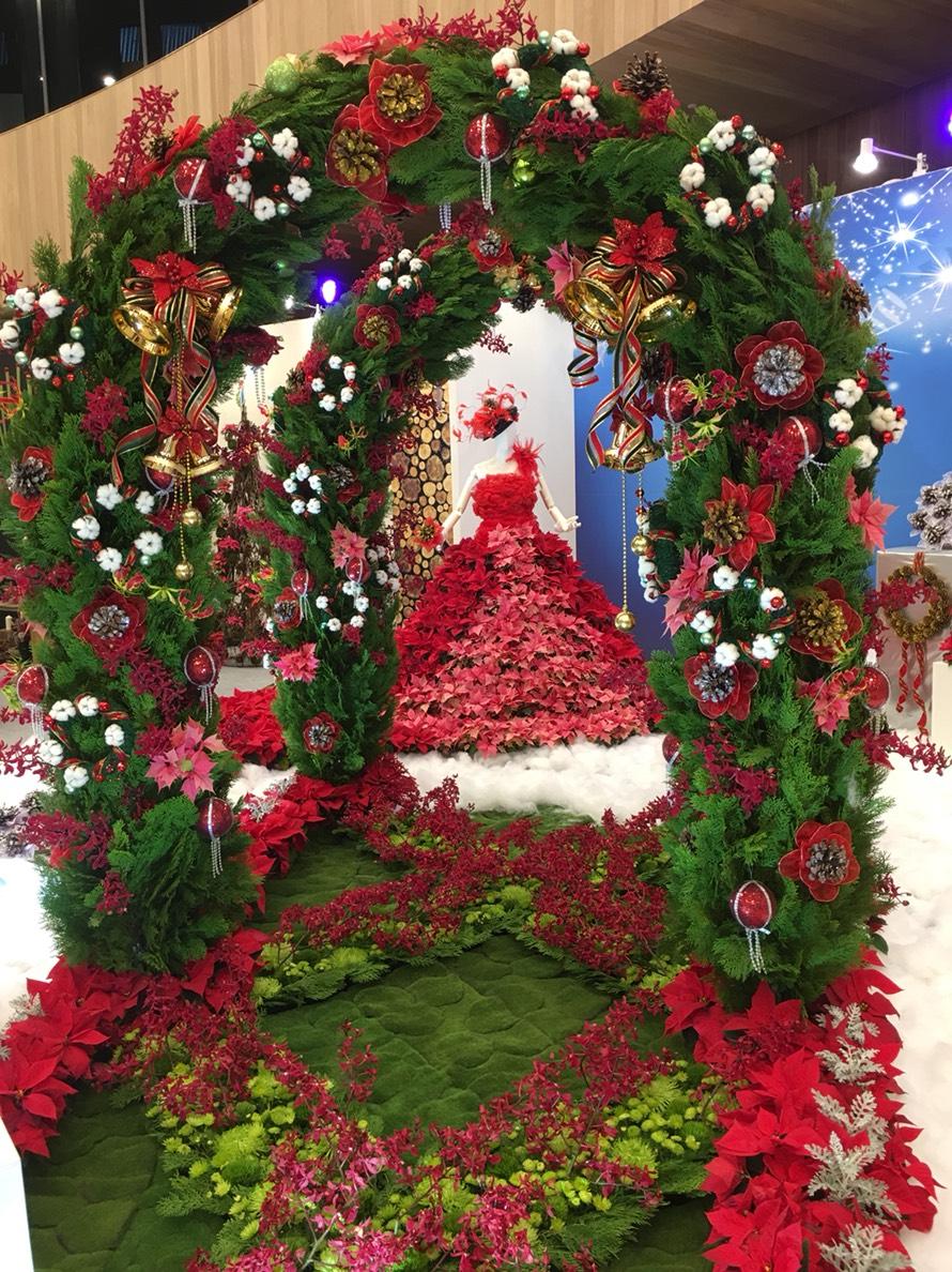 花博花舞館聖誕嘉年華花藝展期倒數 歡迎民眾把握週末參觀