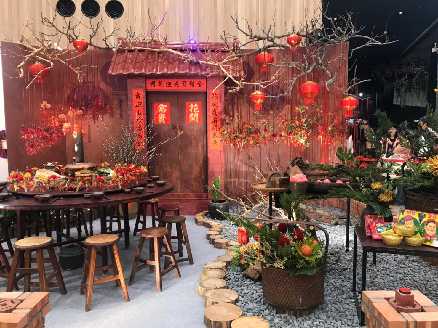 花博年節花卉設計展 即日起至2/17花舞館展出
