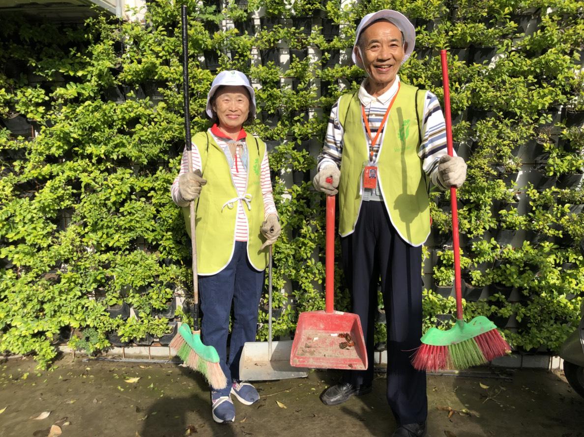2000名環保志工投入花博維護環境 環保局感謝無私奉獻