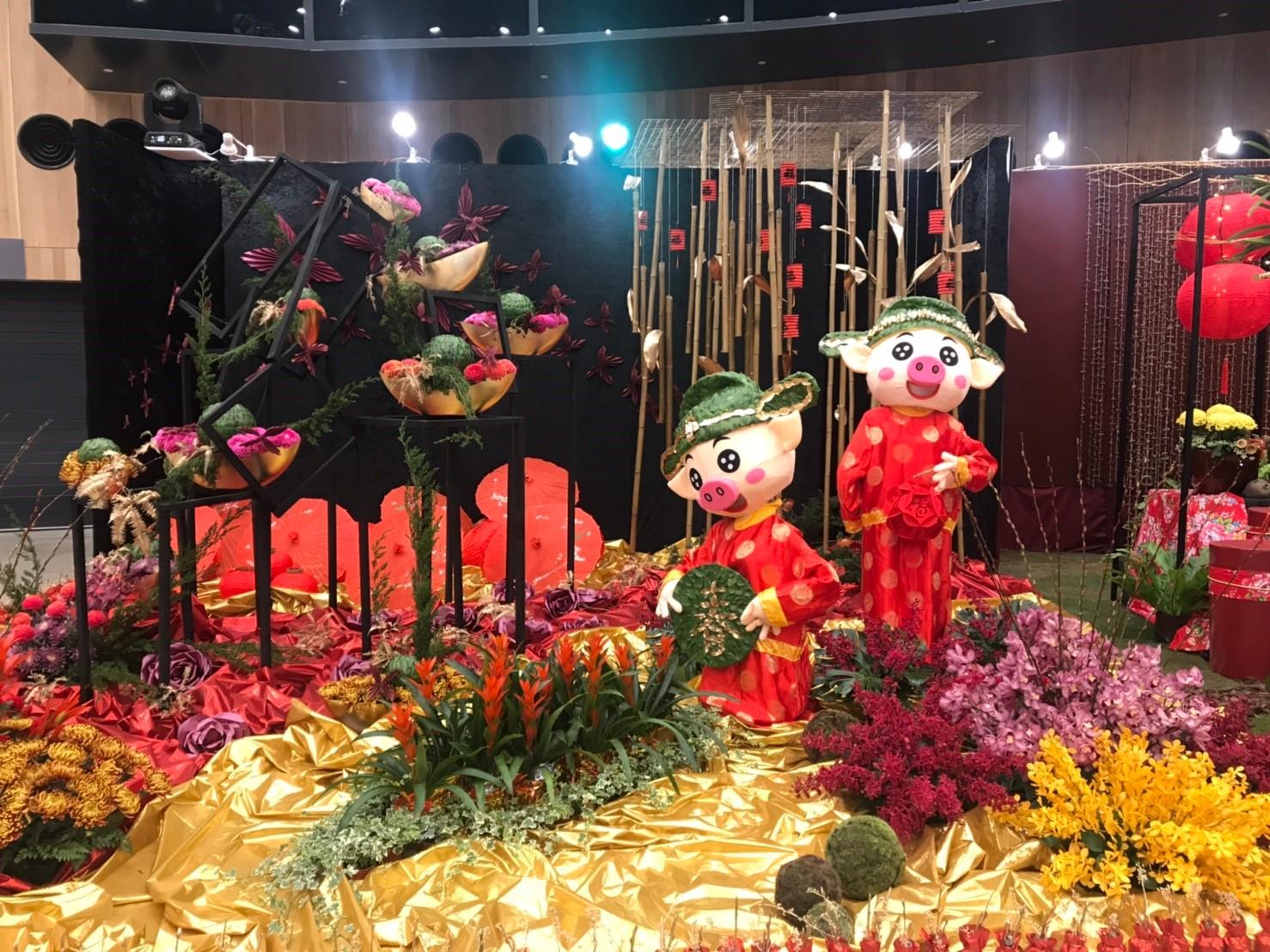 台中花博花舞館競賽廳 下一檔期「花卉裝置藝術設計大賽」2/22展出