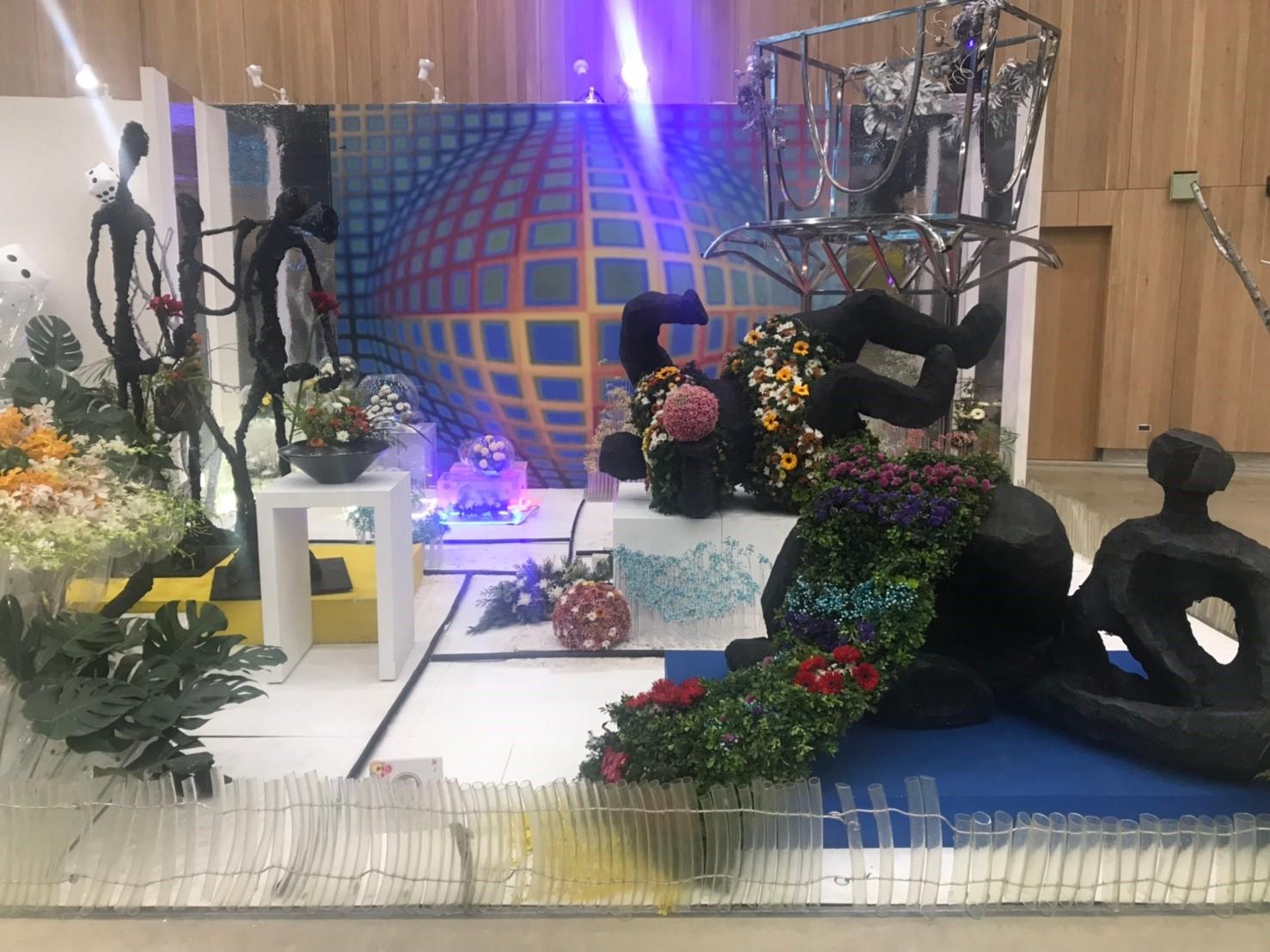 台中花博花舞館競賽廳 下一檔期「居家組合盆栽創意大賽」3/15展出