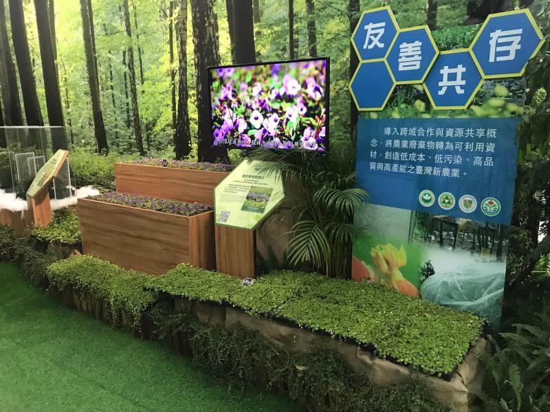 台中花博智農館「共享自然」農科展 即日起開展