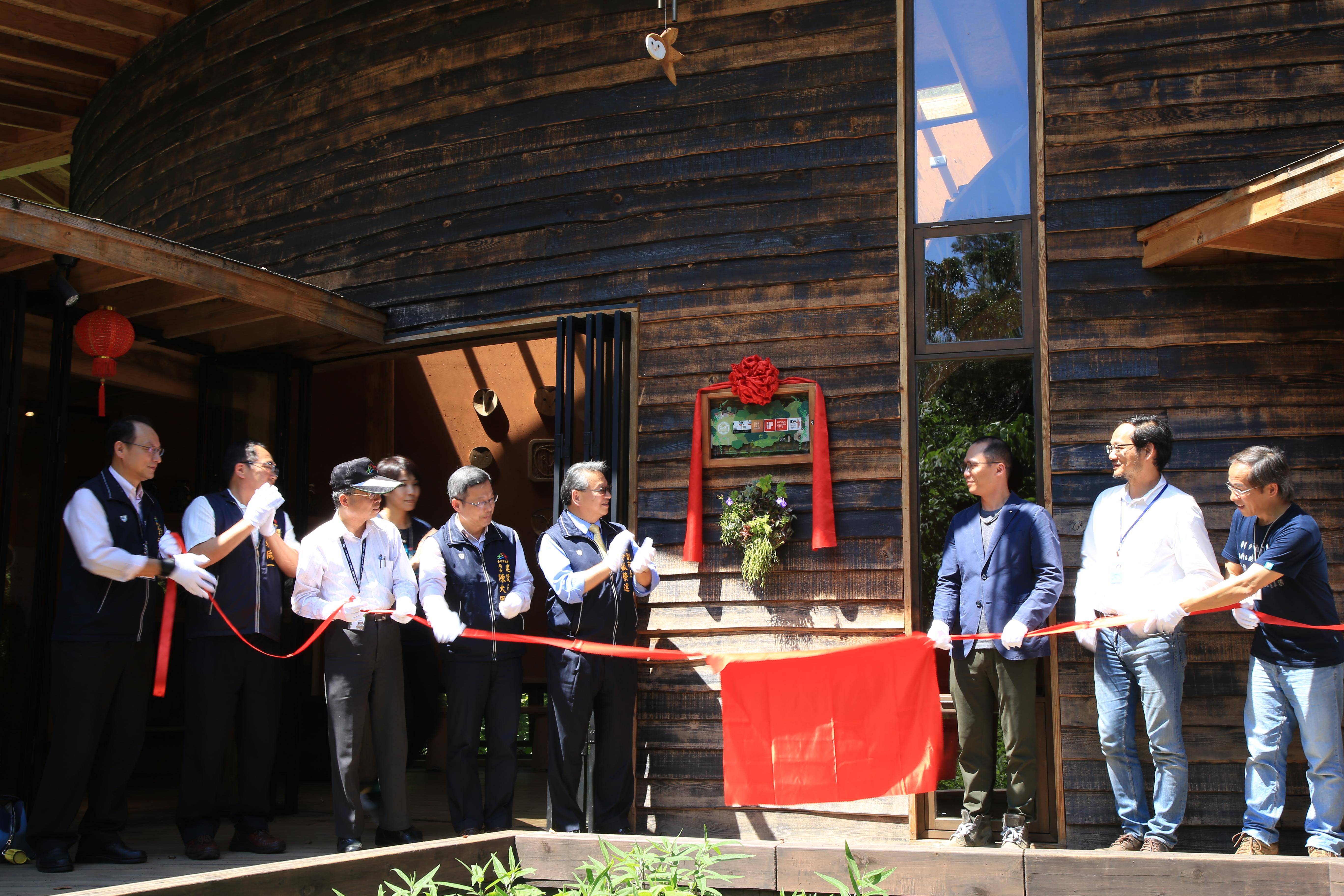 台中花博四口之家屢獲國際大獎 令狐副市長肯定落實環境永續理念