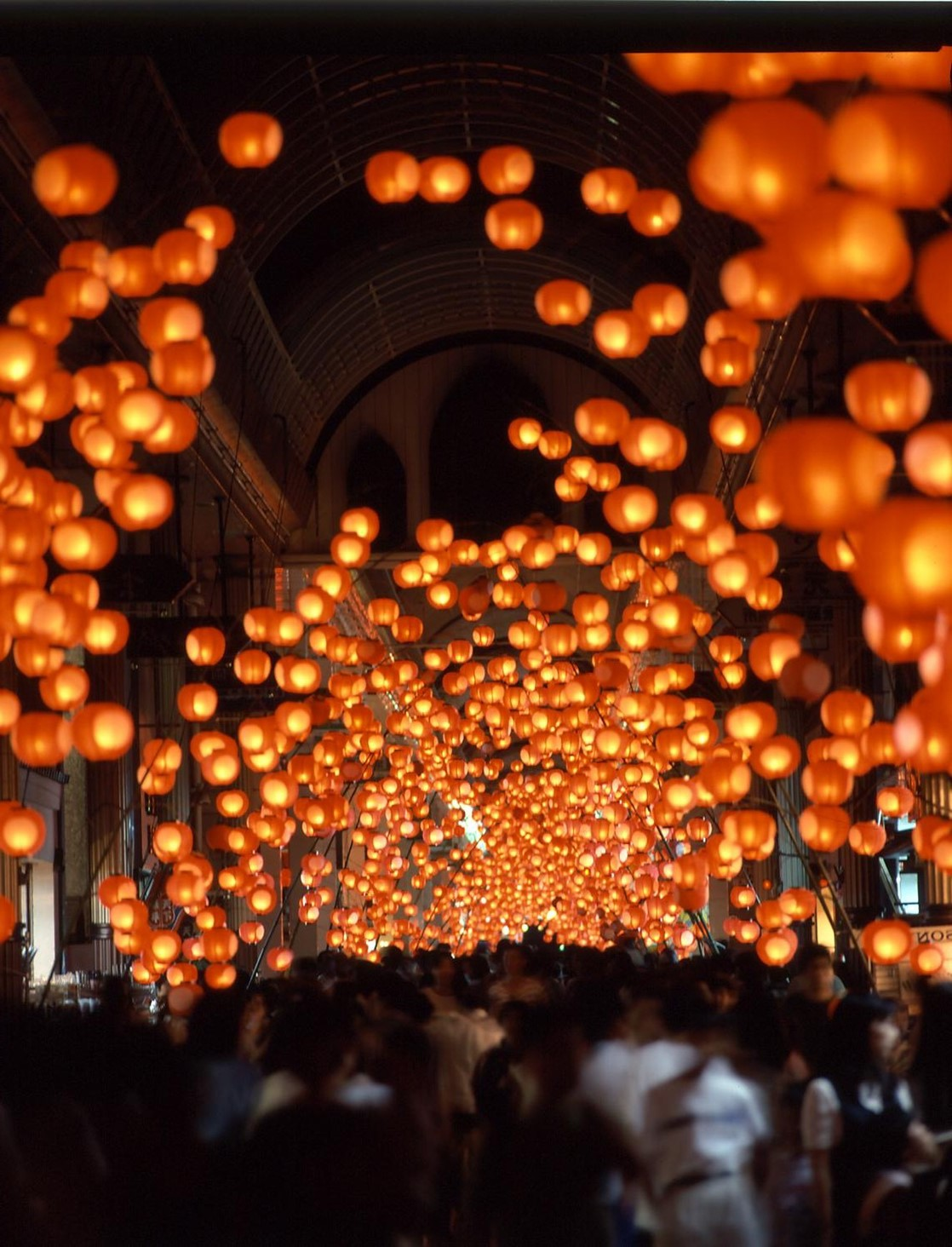 日本山口市參展2020台灣燈會  打造浪漫紅燈籠隧道