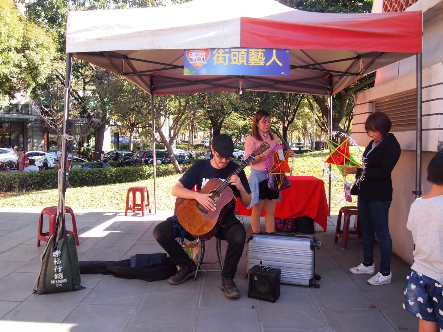 中市移民節慶祝活動 手作越南星星燈台灣燈會展出
