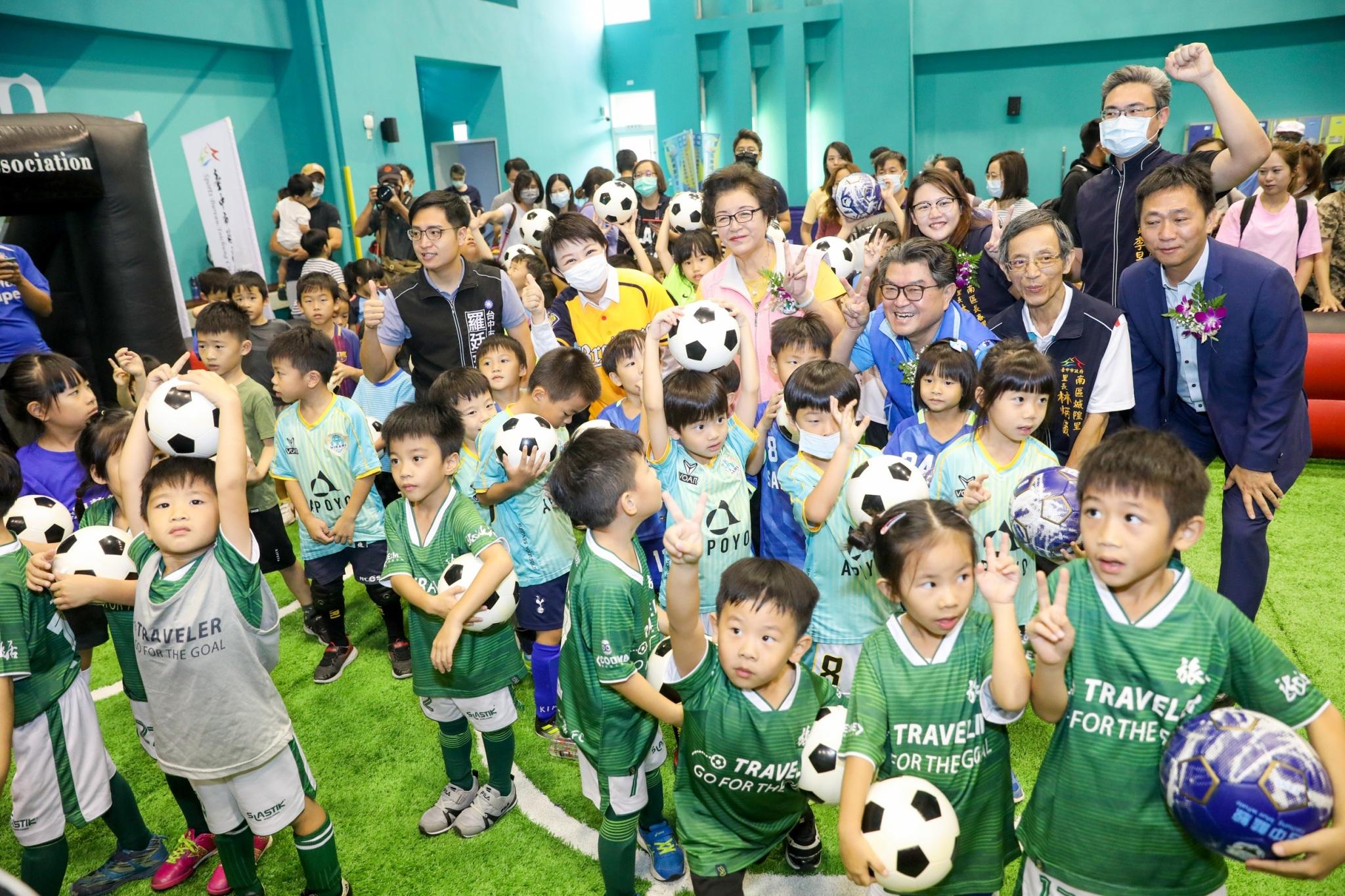 中市「兒童版國運中心」獲好評