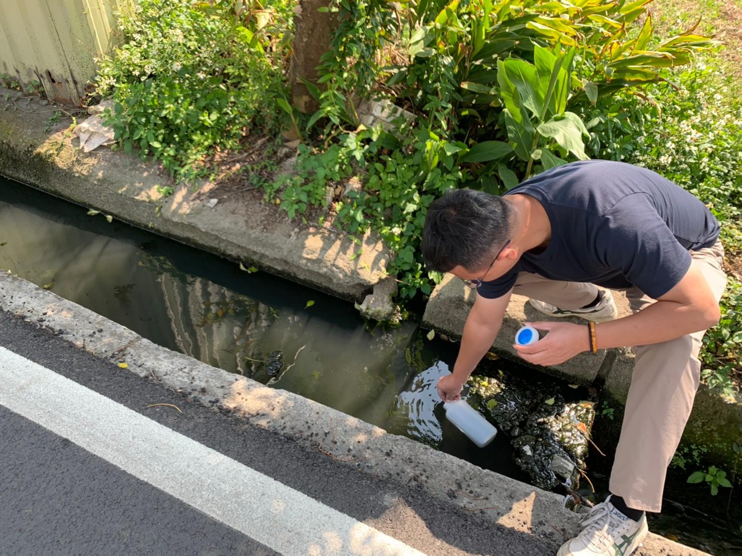 中市「水盒子」24小時監控水質 查獲2業者排放廢水