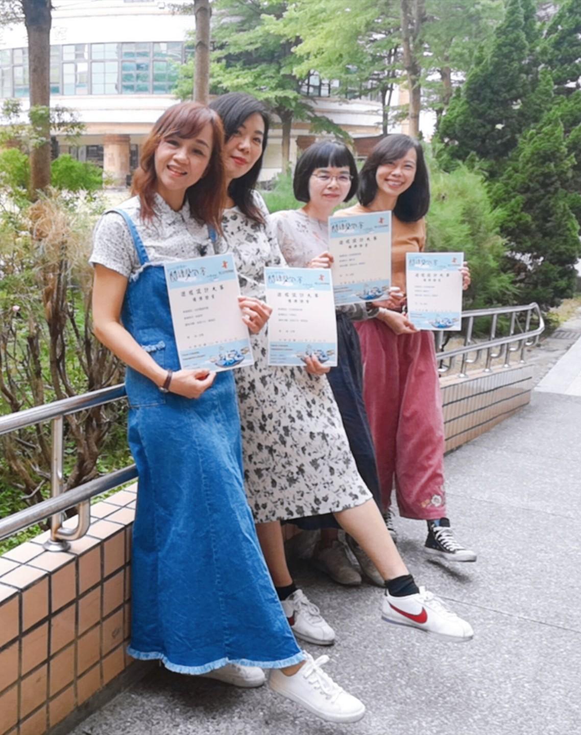 閱讀背包客遊程設計賽 中市至善國中「老派少女 嬉遊記」獲首獎